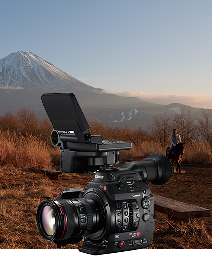 写真:ADVANTAGE OF CANON LOG