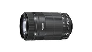 EF-S55-250mm F4-5.6 IS STM 商品詳細へ