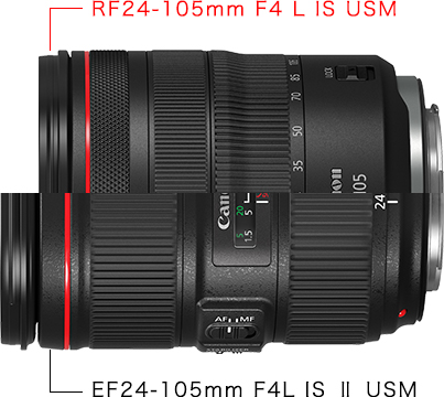 RF24-105mm F4 L IS USM / EF24-105mm F4L IS ii USM