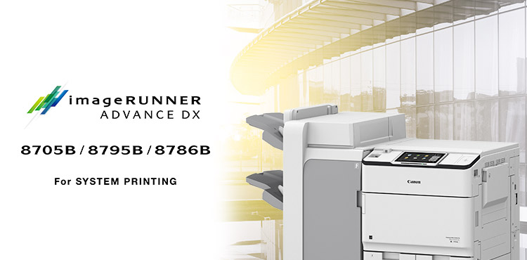 imageRUNNER ADVANCE 8705B/8795B/8786B